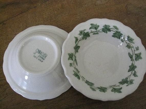 vintage Syracuse China restaurant ware Fruit Bowls & Vintage Syracuse China Restaurant Ware Fruit Bowls on Luulla